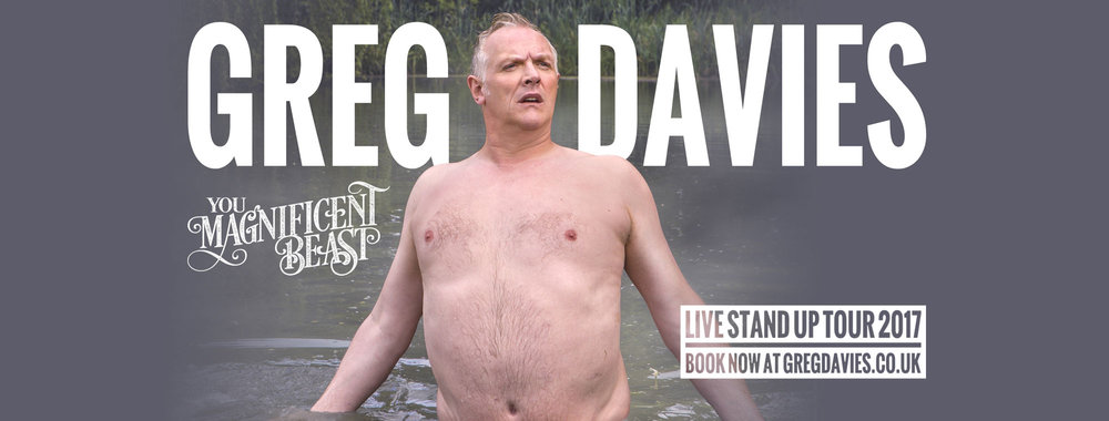 Greg Davies: You Magnificent Beast at Portsmouth Guildhall