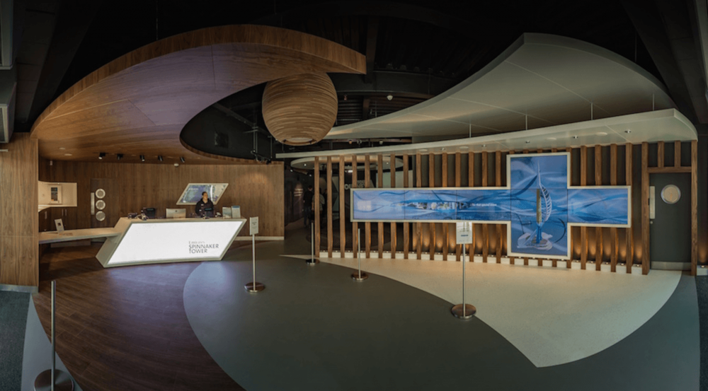 Emirates Spinnaker Tower unveil new entrance experience
