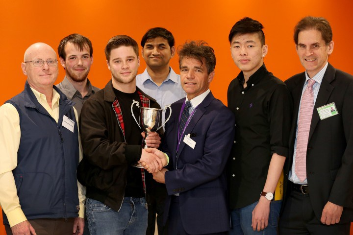 University of Portsmouth students honoured for wind farm work
