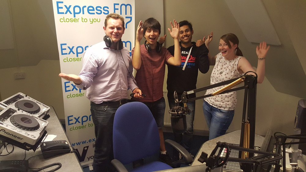 Express FM finds new home at University of Portsmouth Eldon Building