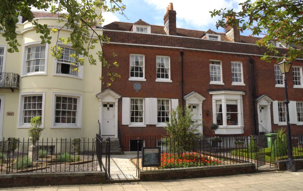 charles dickens birthplace -