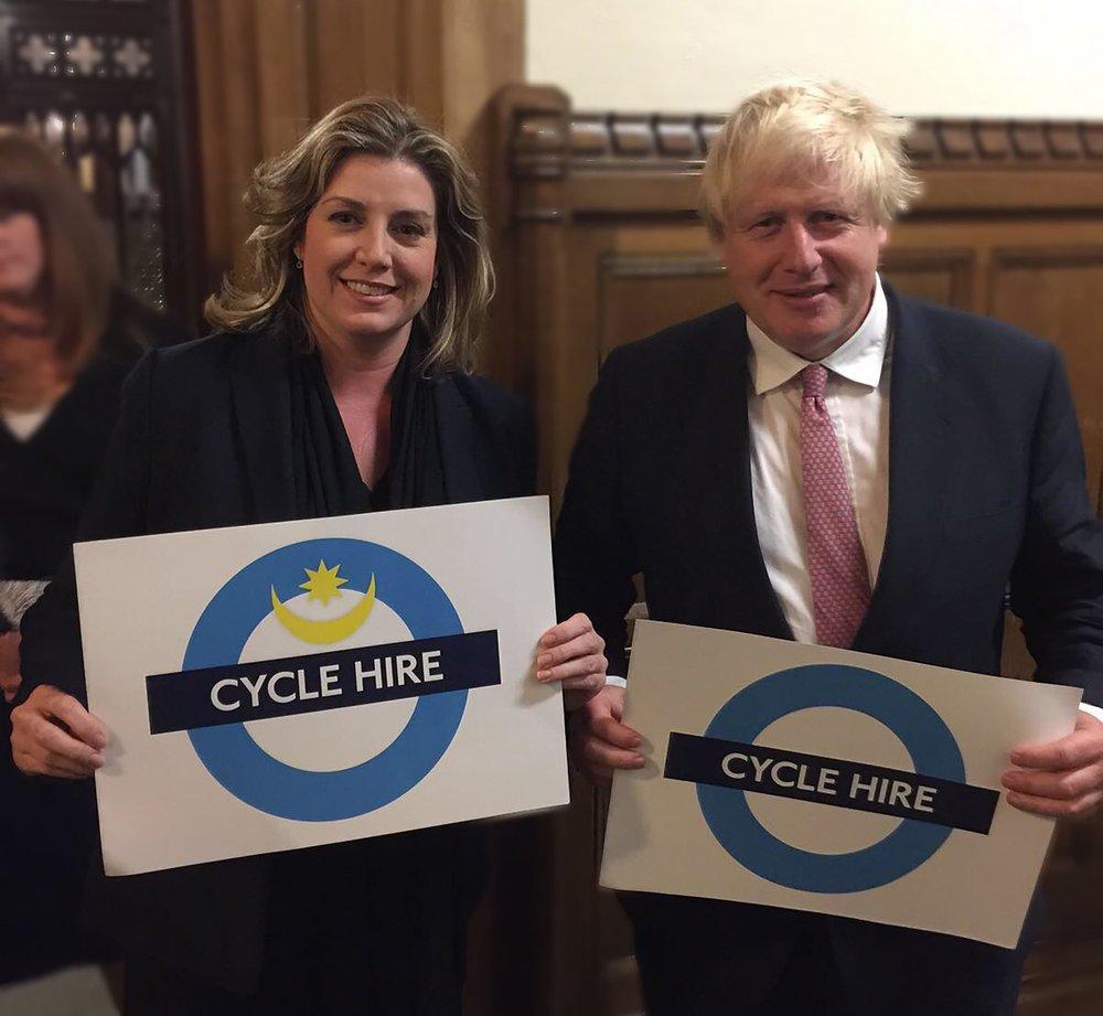 penny mordaunt portsmouth bike scheme.jpg