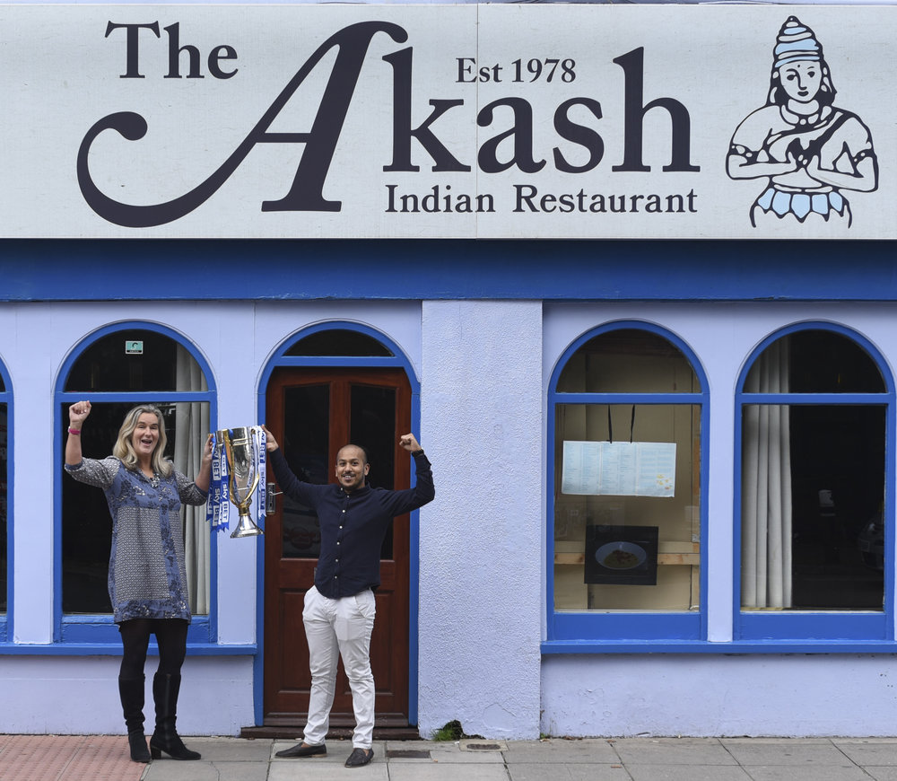 The Akash host charity night to raise money for Pompey in the Community
