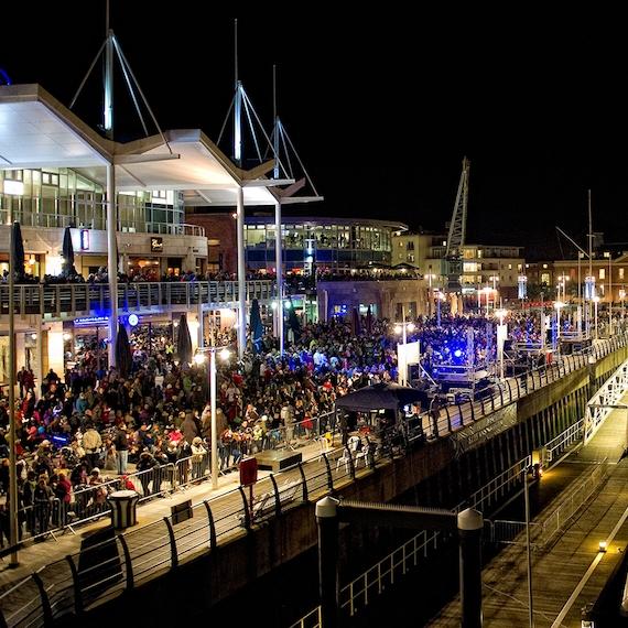 gunwharf quays -