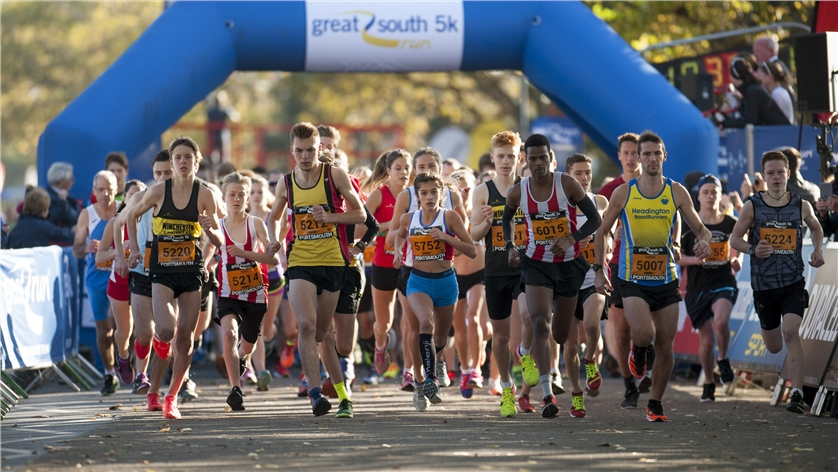 GREAT SOUTH RUN 5K - Write here...
