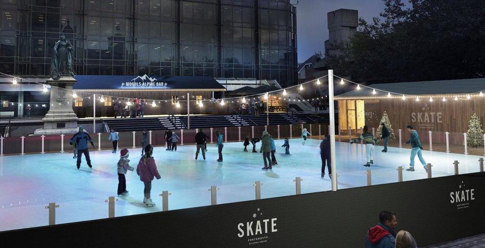 Skate Portsmouth Ice Rink