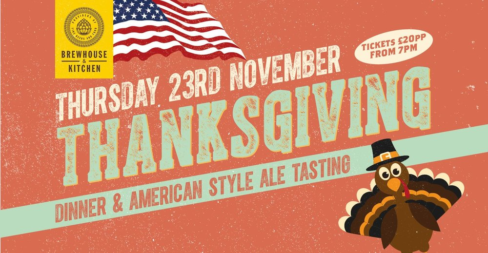Thanksgiving Dinner and American-Style Ale Tasting