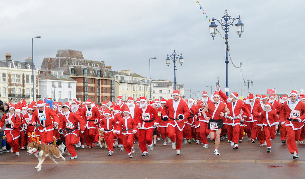 Portsmouth Santa Fun Run 2017
