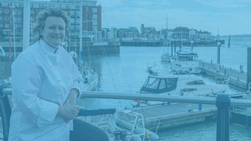 "About Stephanie Moon - Award-winning Stephanie Moon has been a chef for over 20 years, starting her training at the Michelin-starred Dorchester Hotel in Mayfair, London under acclaimed chef Anton Mosimann, before working in some of the finest hotels and restaurants across the world, then returning to her Yorkshire roots to become Executive Head Chef at luxury hotel Rudding Park in Harrogate. Steph cemented her celebrity chef status on BBC 2's Great British Menu, representing the North East for three consecutive years on the popular culinary competition. She said: ""I am thrilled to come back to Portsmouth for a third year and cook for the visitors to the Emirates Spinnaker Tower."""
