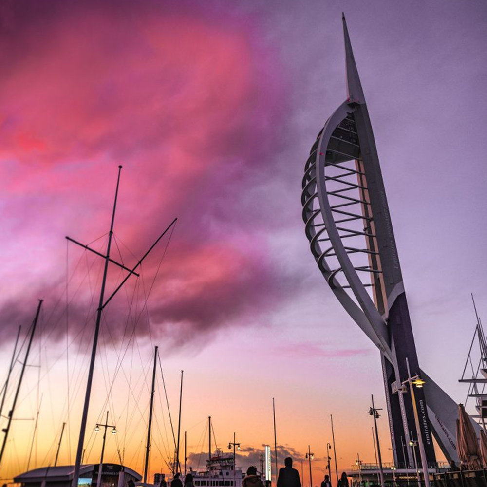 Sunset Sundays Spinnaker Tower.jpg