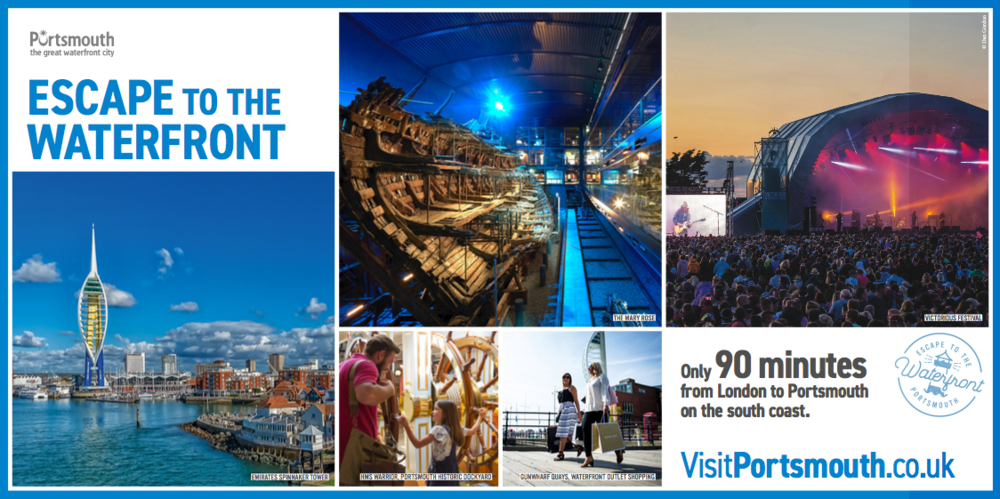 Promotional Film for Visit Portsmouth Supporting Uk Tourism Campaign