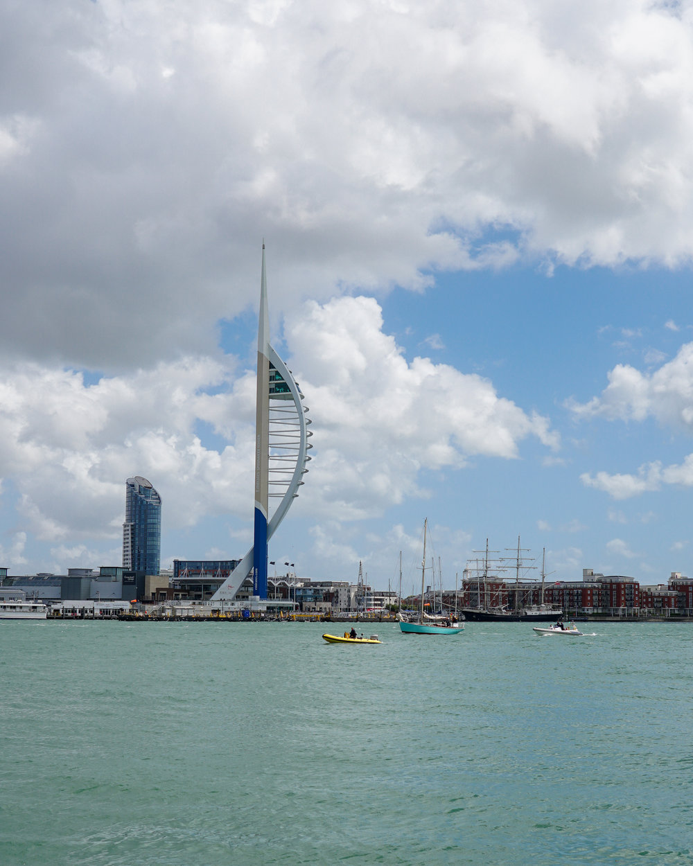 Lively Lady in Portsmouth Harbour