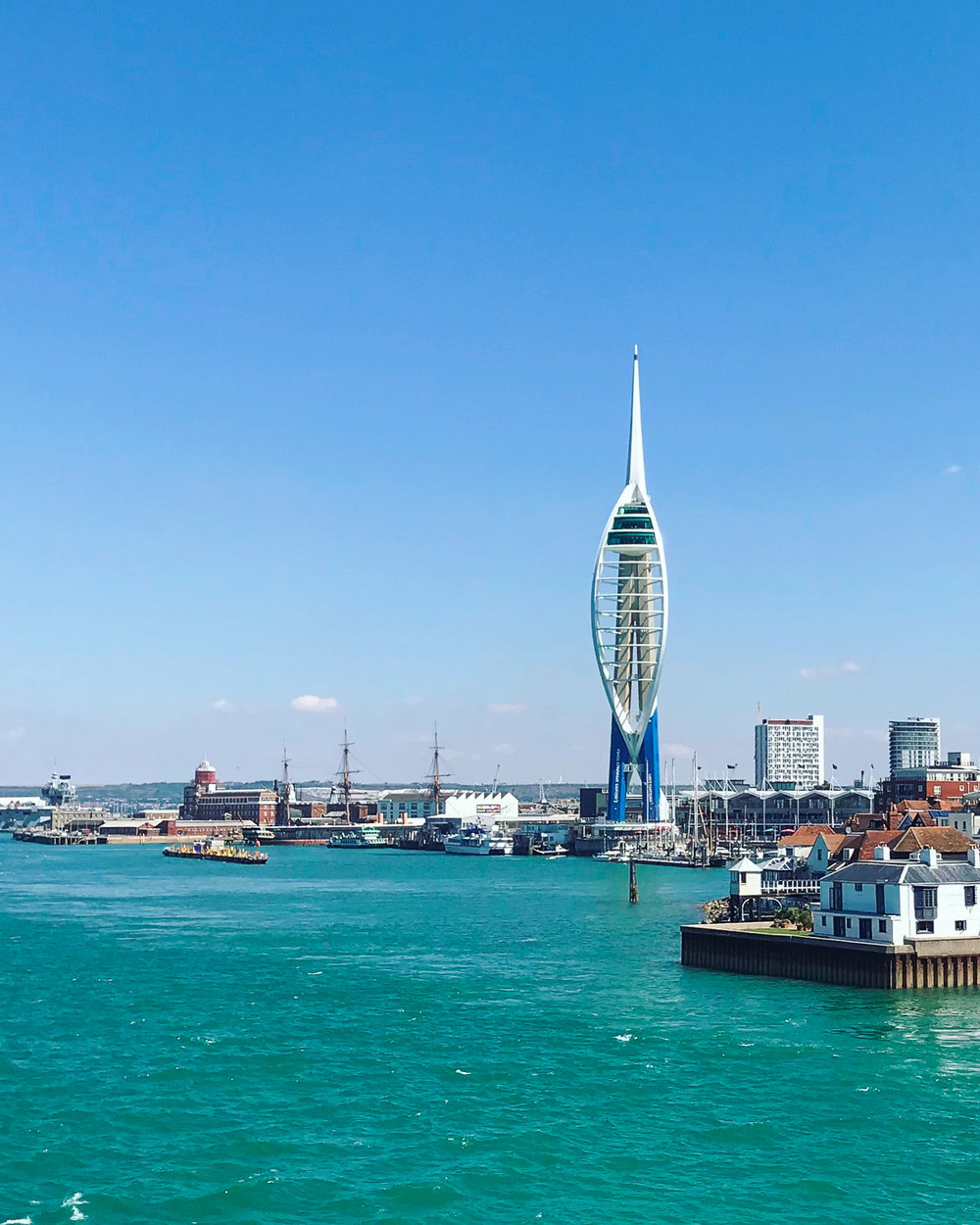 Wightlink Ferries departing Portsmouth for Isle of Wight