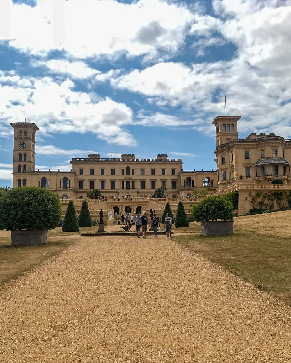 Osborne House isle of wight exterior