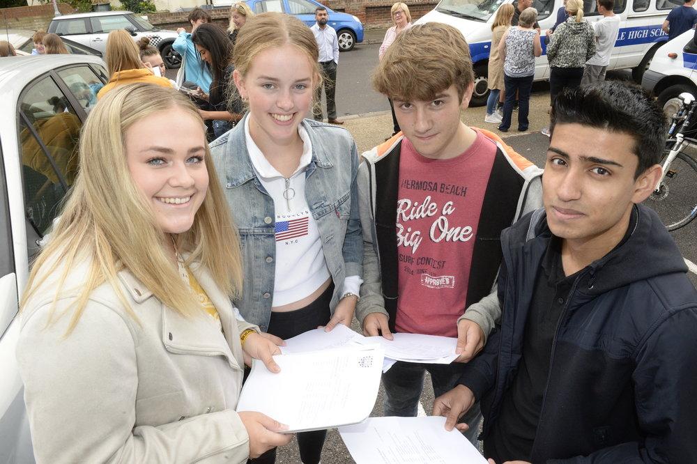Mayville High School celebrates strong GCSE