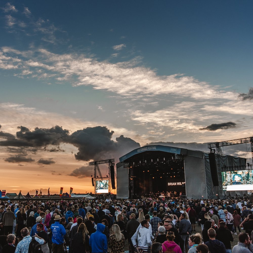 Brian Wilson-victorious festival