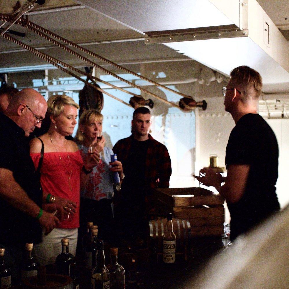 Portsmouth Historic Dockyard's Rum & Gin Festival