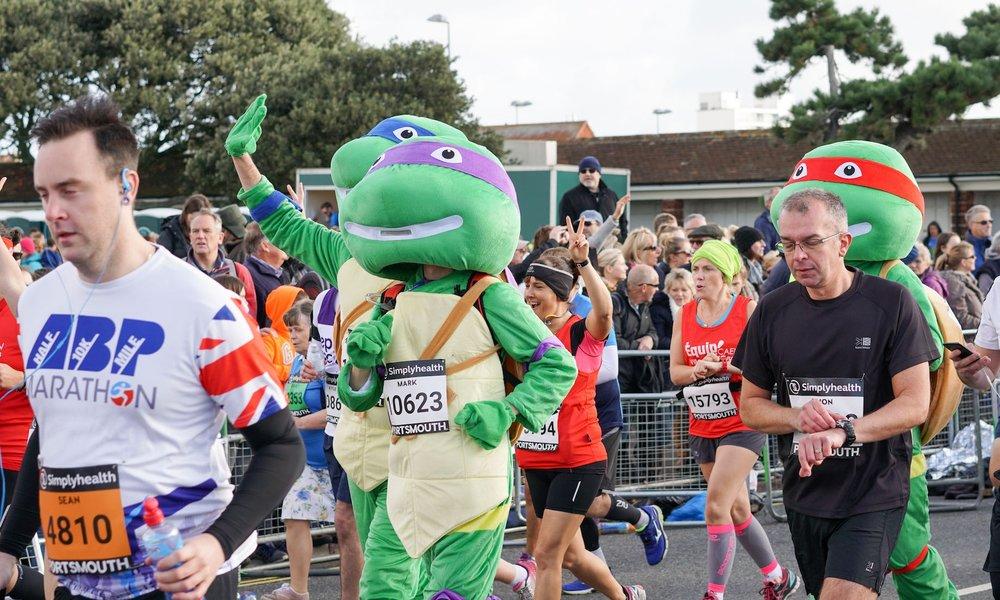 great south run-runners