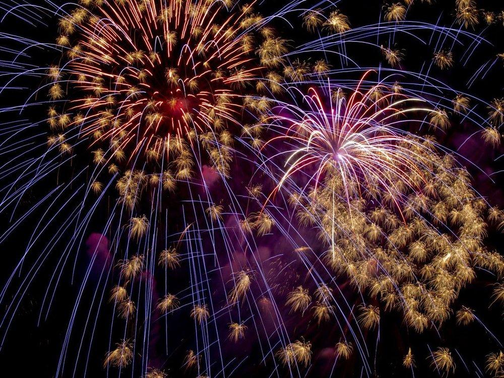 hms sultan fireworks