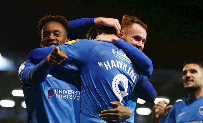 Pompey Breeze past Walsall to Retain Top Spot