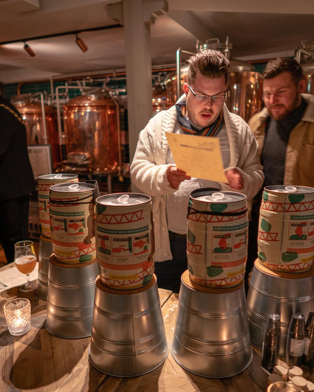 brewhouse & Kitchen Southsea tasting menu