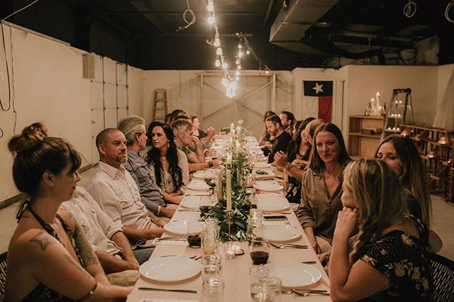 Come join us for #austinsupperclub this Thursday. Tag a friend and receive a free 4 course meal with pairing with the purchase of your spot at the table. Link in bio. Photo @vanessalainphoto