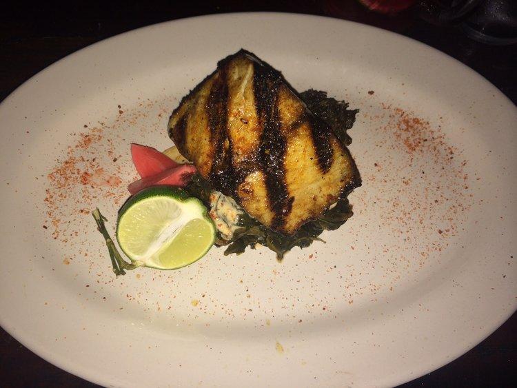 Hartwood fish dish