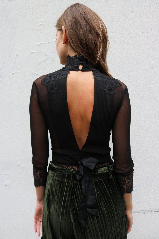 open back bodysuit
