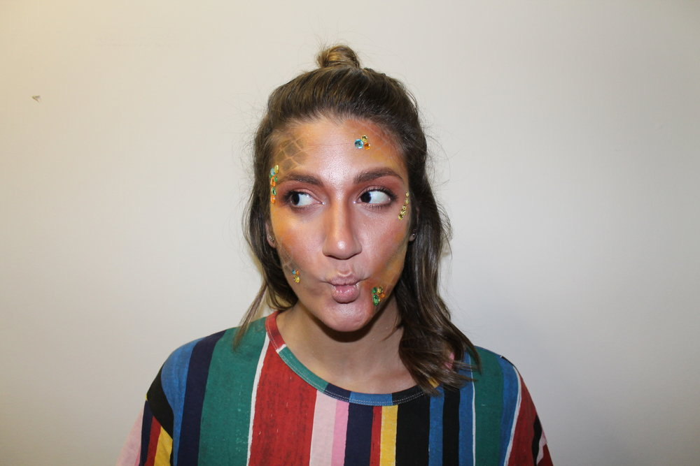 Rainbow Fish Halloween Makeup