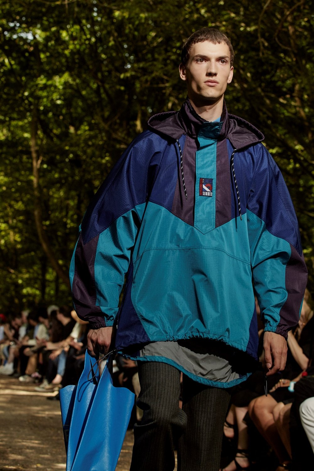 windbreaker at Balenciaga. photo from   Dazed Digital  , photography Lucie Rox