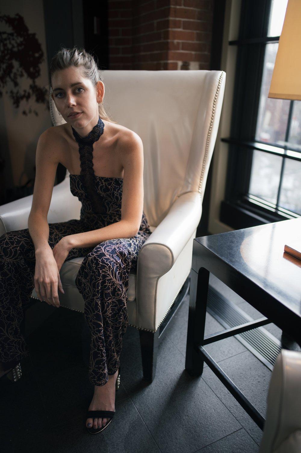 formalwear jumpsuit