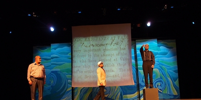 KOMAGATA MARU PLAY, CANADA  Set Design, Videography