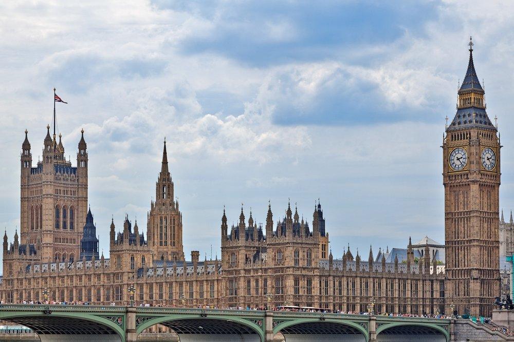 London Parliament & Big Ben