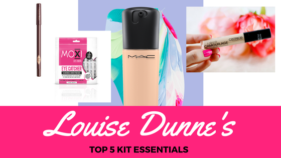 Glissed Co-Founder, Louise Dunne, rounds up her Top 5 Make-Up Kit Essentials