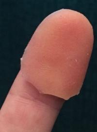 Fake fingerprint