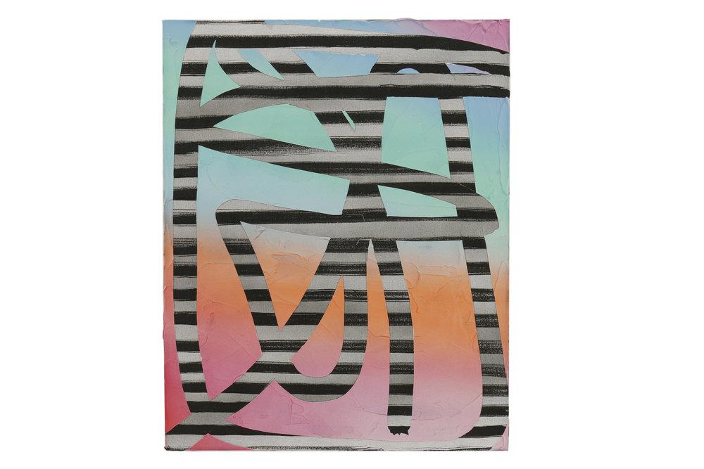 Ruth Freeman    DRAG, 2016   Oil on canvas  16 x 12 in (40.6 x 30.5 cm)