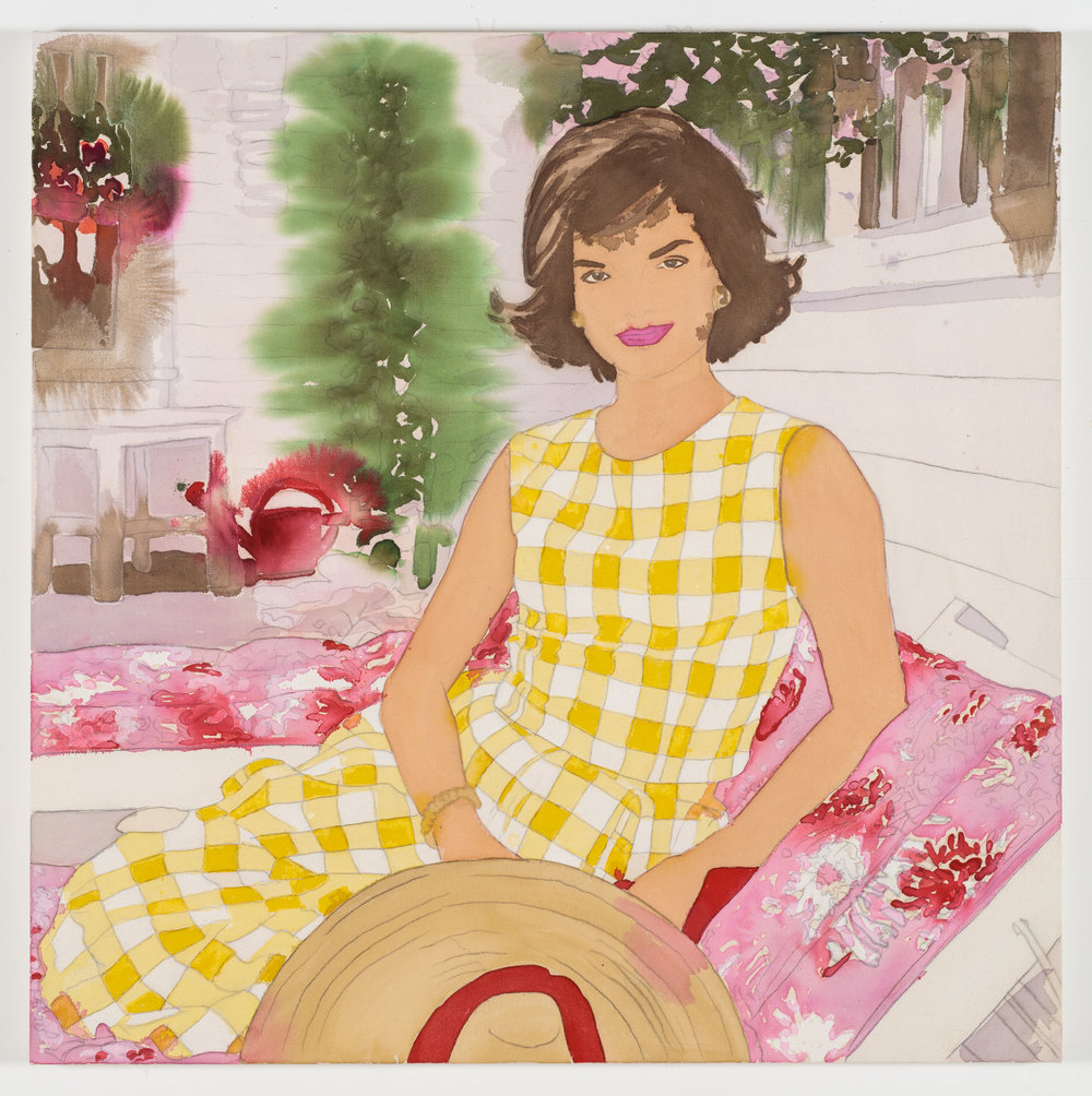 Jackie in Yellow Gingham