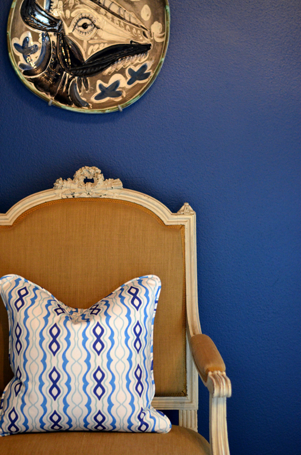www.mimosalaneblogspot.com, pillows, blue masquerade, mongolian lambswool pillow