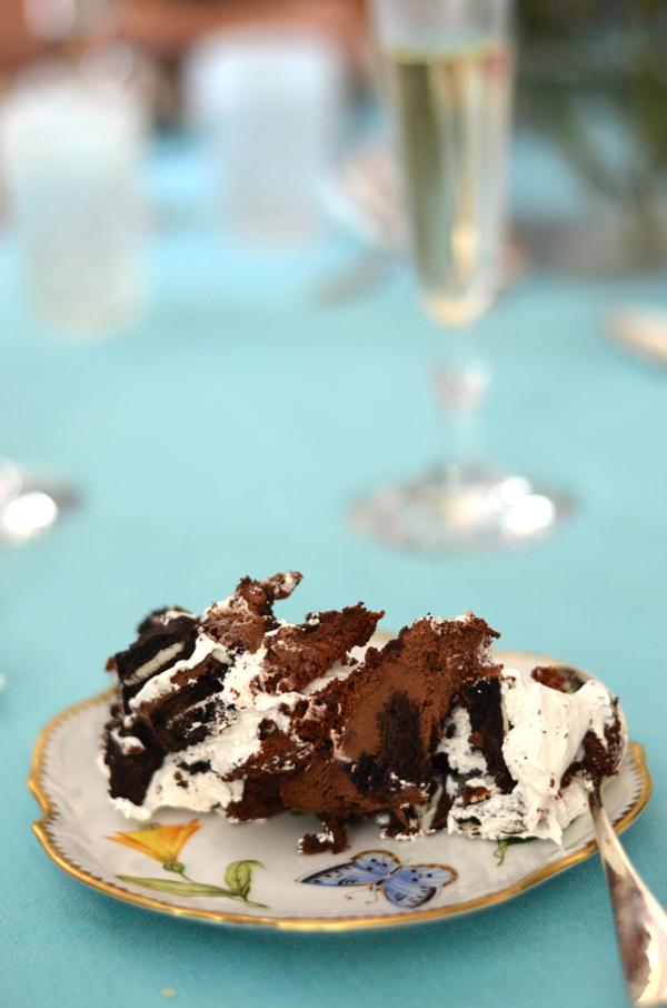oreo, cake, trifle