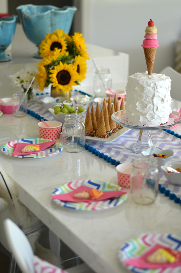 Ice Cream Cone Birthday Party — Mimosa Lane