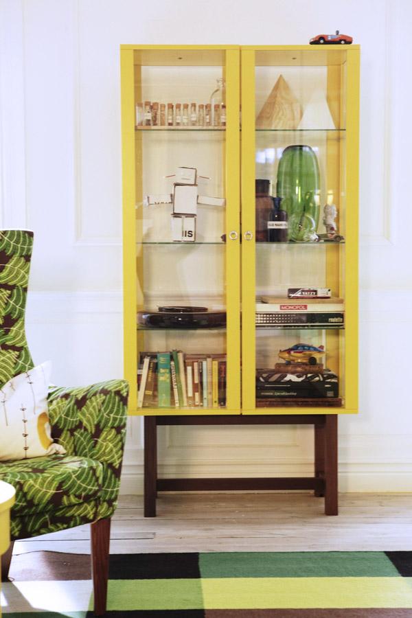 Ikea Stockholm glass door cabinet,