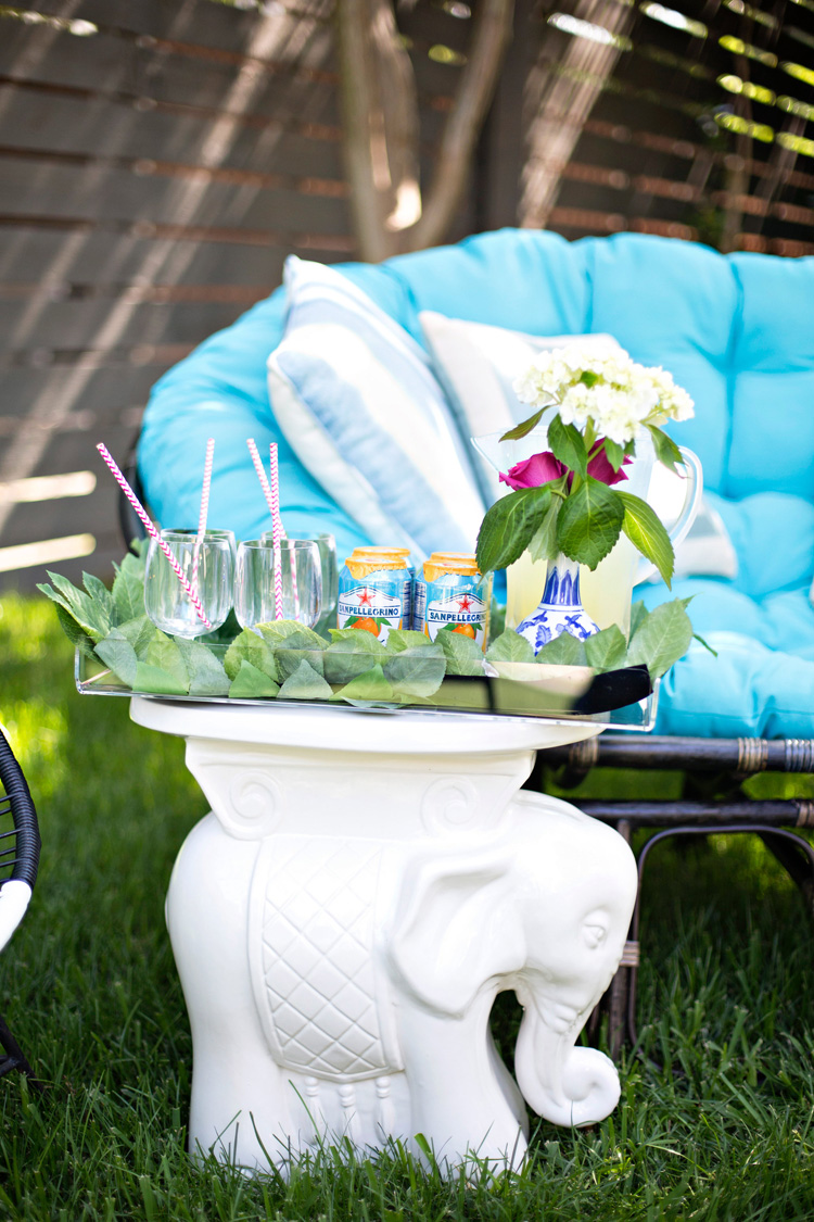 Here Is My Favorite Pier1 Piece Of All Time, The Trusty And Chic Elephant  Garden Stool. Perfect To Hold A Tray Full Of Refreshments   Fresh Lemonade  And San ...