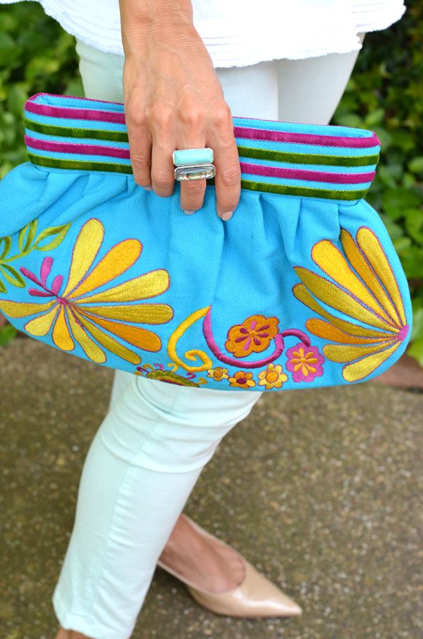 Mimosa Lane Blog, Elizabeth Showers jewelry, turquoise