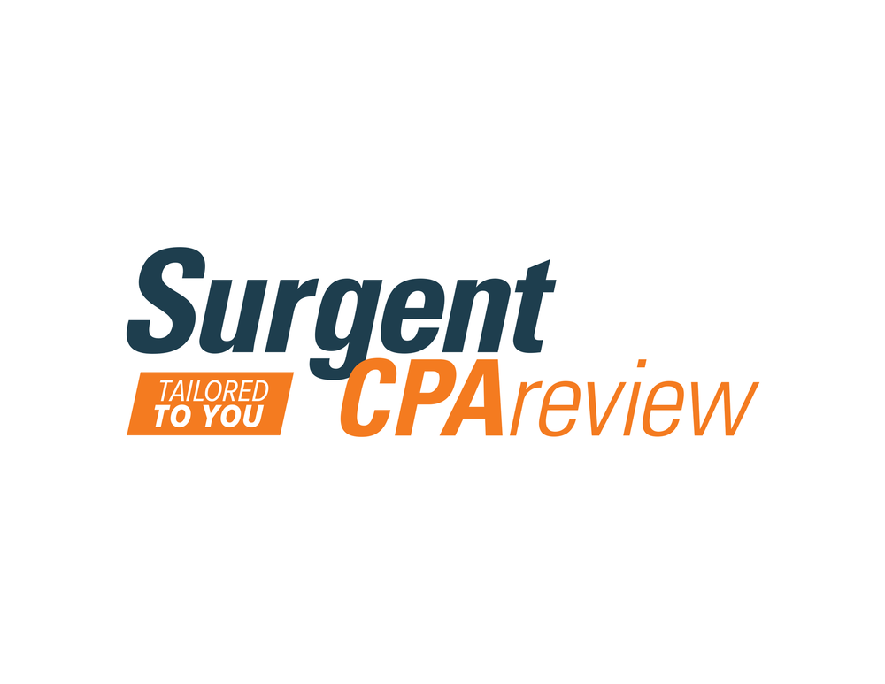 CPA Review brand logo redesign.