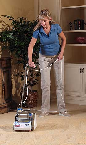 The Host dry carpet shampooer