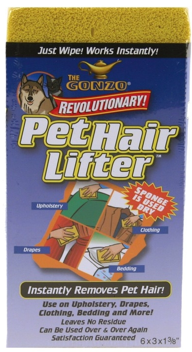 Pet hair removers