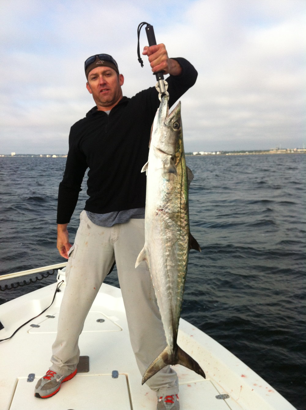 King Mackerel In Pensacola Bay!
