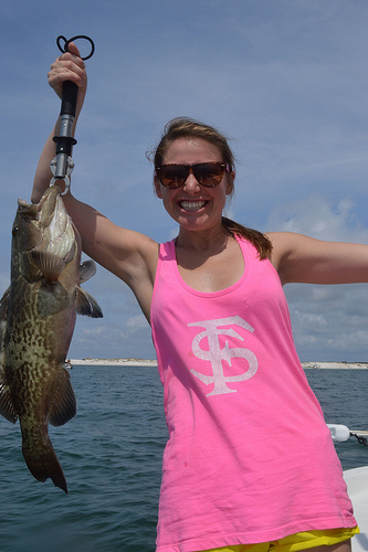 Shallow Water Grouper!