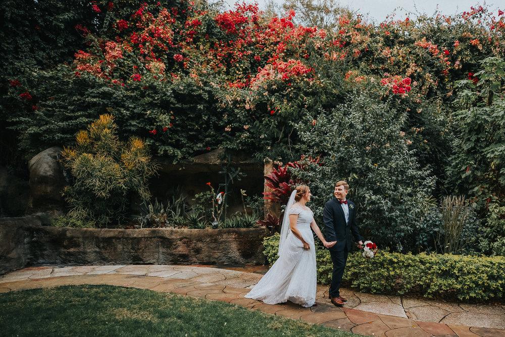 Sunken Gardens Wedding.Blog Rad Red Creative