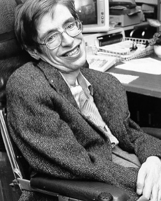 """We have this one life to appreciate the grand design of the universe, and for that, I am extremely grateful"". Rest In Peace Stephen Hawking. #seeyouspacecowboy"